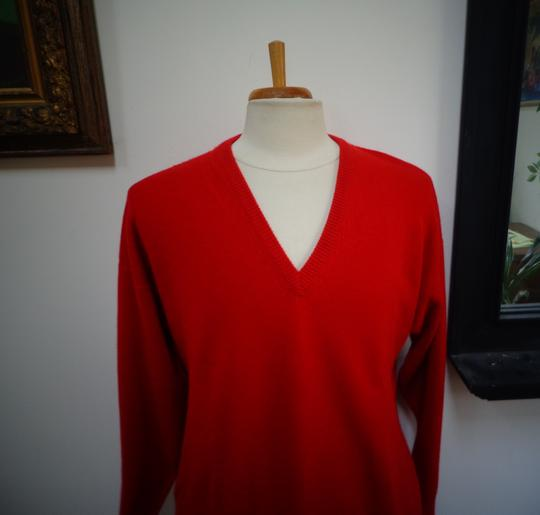 Burberry London Man's 100% Cashmere V-Neck Sweater Image 2