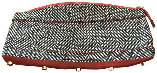 Preload https://img-static.tradesy.com/item/24961665/rebecca-minkoff-black-white-woven-summer-leather-and-wicker-gold-played-hardware-clutch-0-1-540-540.jpg