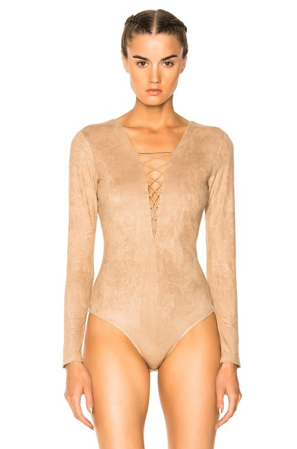 Preload https://img-static.tradesy.com/item/24961794/t-by-alexander-wang-camel-faux-suede-lace-up-bodysuit-4w377005v1-romperjumpsuit-0-1-650-650.jpg