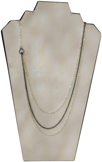 Preload https://img-static.tradesy.com/item/24961840/silver-and-bronze-reversible-necklace-0-1-540-540.jpg