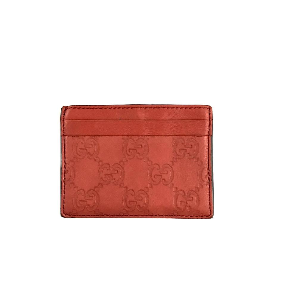 7bb023680bea Gucci Monogram Card Holder Wallet Image 0 ...