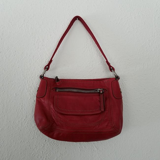 Item - Hobo Red Leather Satchel