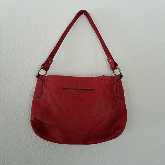 Fossil Satchel in Red Image 1
