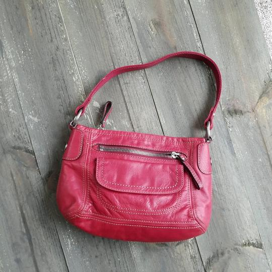 Fossil Satchel in Red Image 2