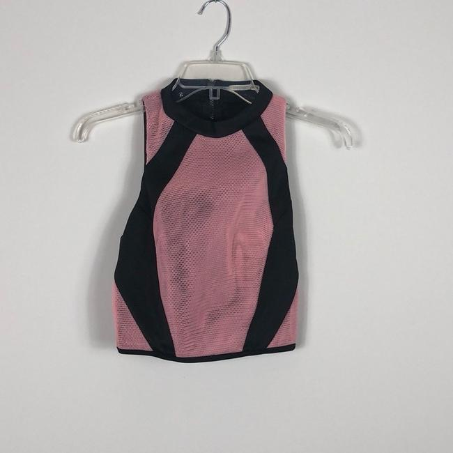 Mustard Seed Top Pink and Black Image 3