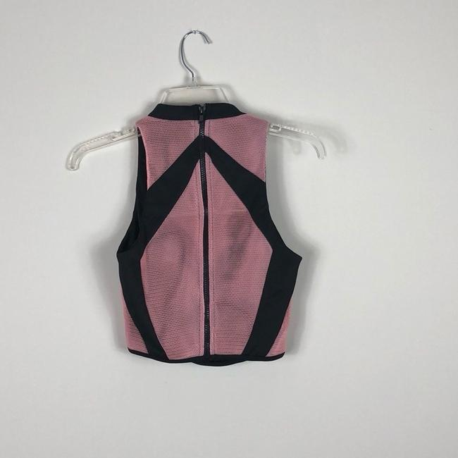 Mustard Seed Top Pink and Black Image 4