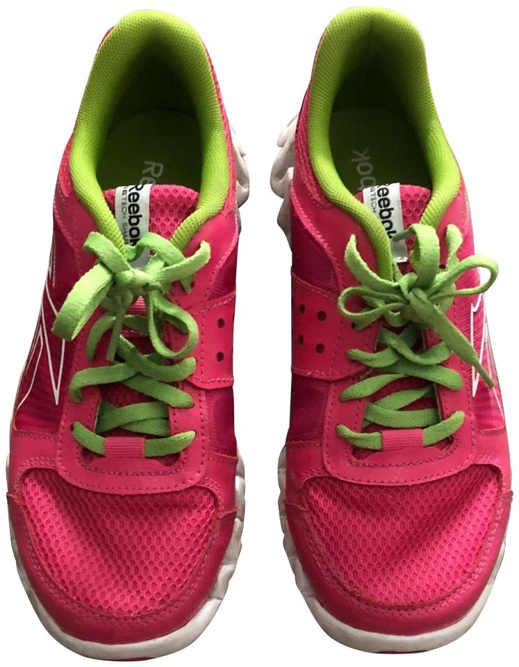 check out 5f692 44fc1 Reebok Pink Zigtech Sneakers