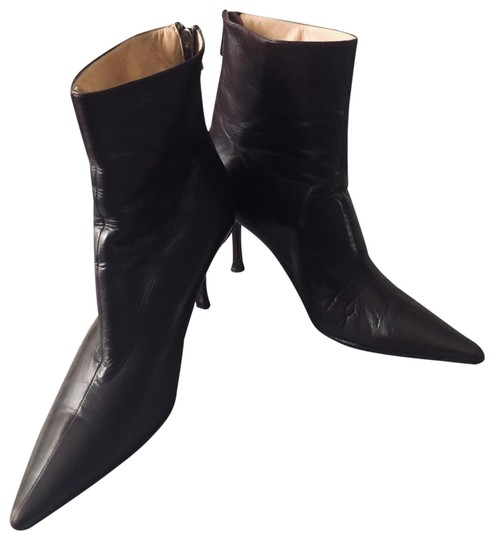 Preload https://img-static.tradesy.com/item/24962202/jimmy-choo-brown-leather-pointed-toe-ankle-bootsbooties-size-us-10-regular-m-b-0-4-540-540.jpg