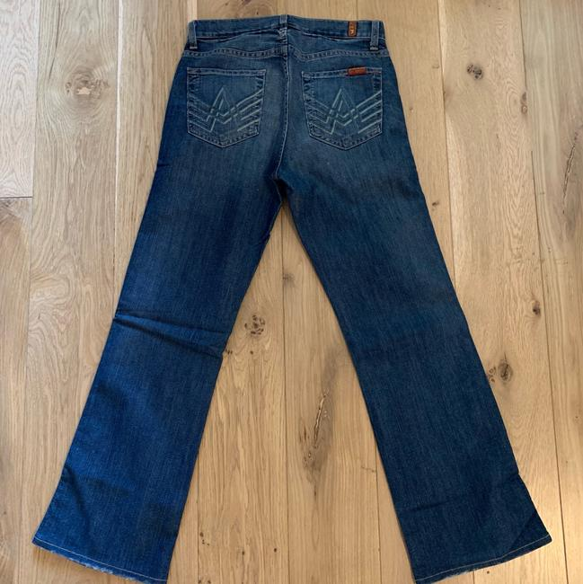7 For All Mankind Boot Cut Jeans-Medium Wash Image 2