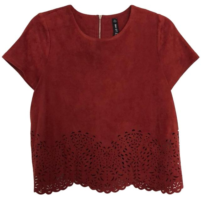 Preload https://img-static.tradesy.com/item/24962215/lord-and-taylor-brick-red-design-lab-blouse-size-2-xs-0-1-650-650.jpg