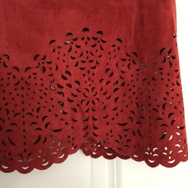 Lord & Taylor Top Brick Red Image 1