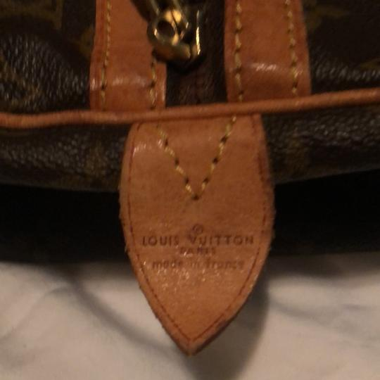 Louis Vuitton Traditional dark and light brown Travel Bag Image 8