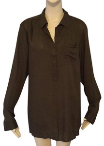 Love Notes Top Olive green
