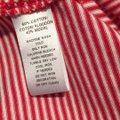 Ann Taylor LOFT Top Red and white Image 4