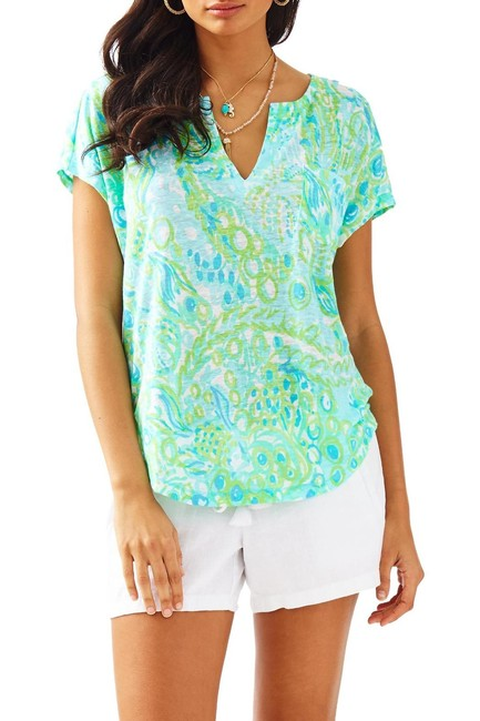Lilly Pulitzer Top Blue Image 2