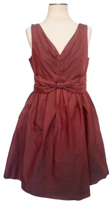 Preload https://img-static.tradesy.com/item/24962533/banana-republic-burgundy-ruched-a-line-mid-length-cocktail-dress-size-petite-10-m-0-1-650-650.jpg