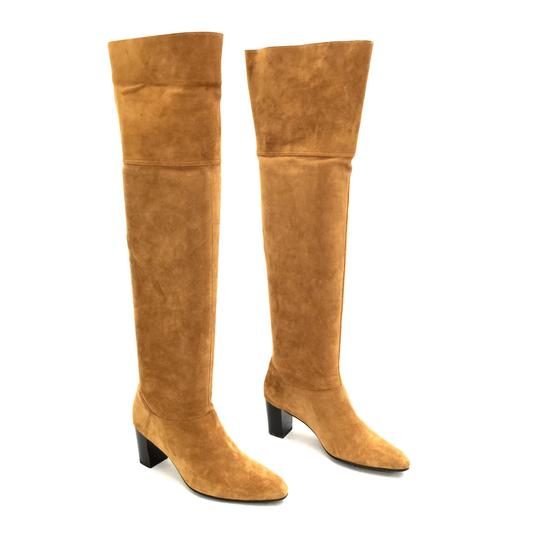 Preload https://img-static.tradesy.com/item/24962555/robert-clergerie-brown-cognac-suede-and-gold-leather-over-the-knee-or-fold-over-bootsbooties-size-us-0-0-540-540.jpg