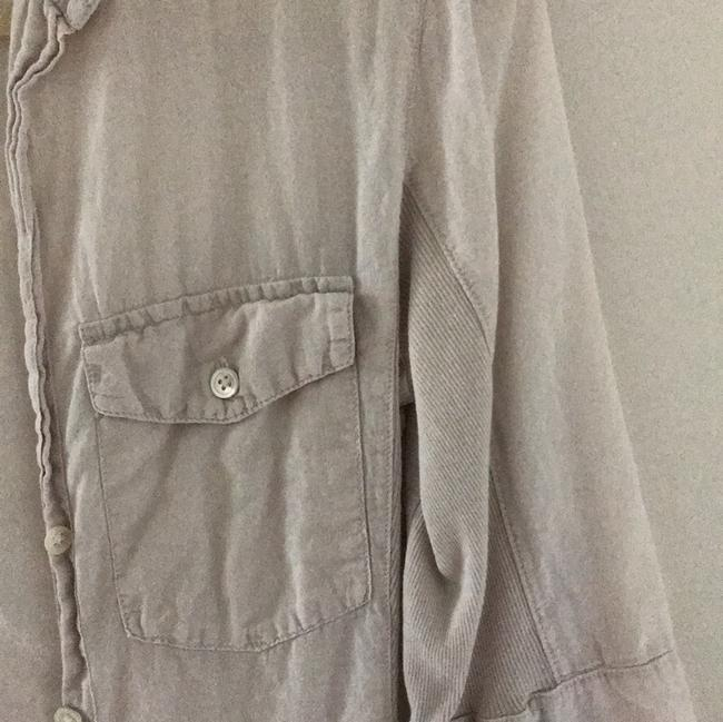 James Perse Button Down Shirt light khaki Image 2