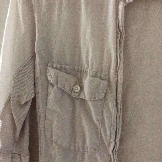 James Perse Button Down Shirt light khaki Image 3