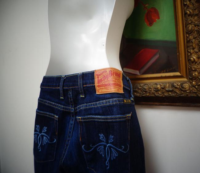 Lucky Brand Boot Cut Jeans-Dark Rinse Image 6