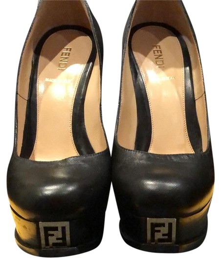 Preload https://img-static.tradesy.com/item/24962702/fendi-black-with-gold-logo-35916-platforms-size-eu-36-approx-us-6-regular-m-b-0-1-540-540.jpg
