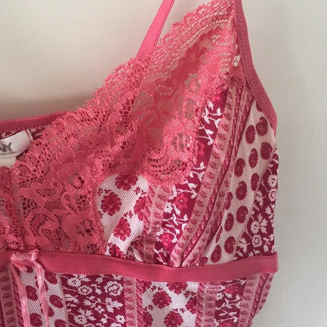 DKNY Camisole Camisole Rose Camisole Pretty Camisole Top Pink and Red Image 6