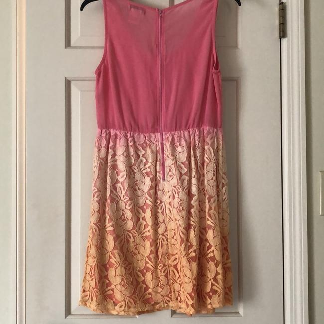 Flying Tomato short dress pink/coral/peach on Tradesy Image 1