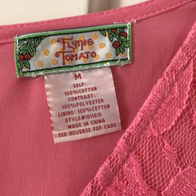 Flying Tomato short dress pink/coral/peach on Tradesy Image 3