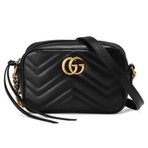 405244e1a7b Gucci Marmont Gg Matelassé Camera Mini Quilted Leather Shoulder ...