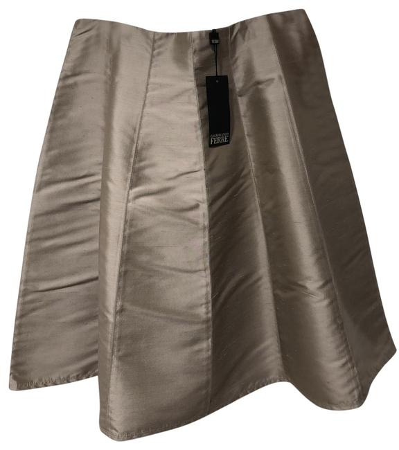 Item - Silver Gonna Skirt Size 12 (L, 32, 33)