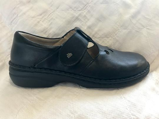 Finn Comfort Soft Footbed Size41 Mary Jane Black leather Flats Image 3