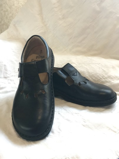 Finn Comfort Soft Footbed Size41 Mary Jane Black leather Flats Image 4