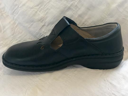 Finn Comfort Soft Footbed Size41 Mary Jane Black leather Flats Image 7