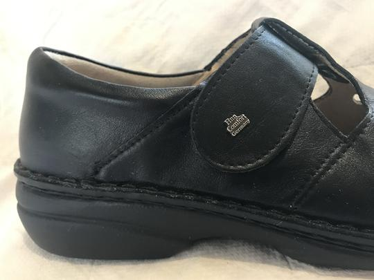 Finn Comfort Soft Footbed Size41 Mary Jane Black leather Flats Image 9