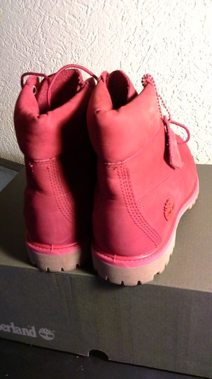 Timberland Red Boots Image 1