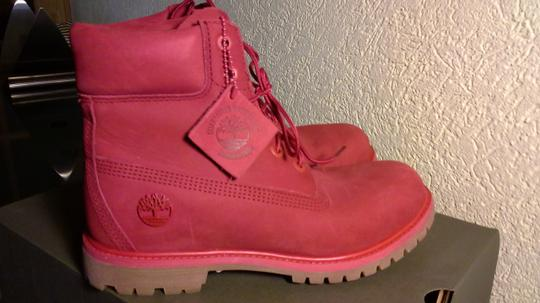 Timberland Red Boots Image 2