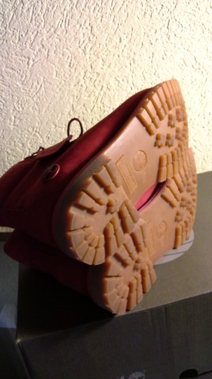 Timberland Red Boots Image 3