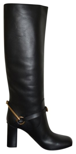Gucci Leather Black Boots Image 1