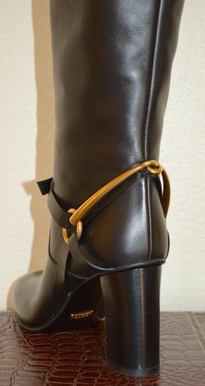 Gucci Leather Black Boots Image 2
