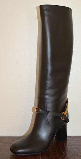 Gucci Leather Black Boots Image 3