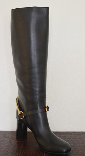 Gucci Leather Black Boots Image 4