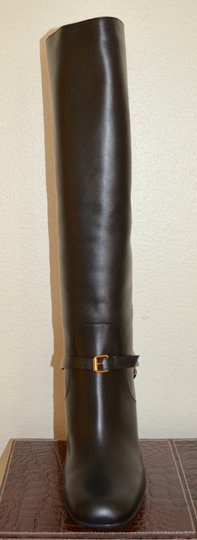 Gucci Leather Black Boots Image 5