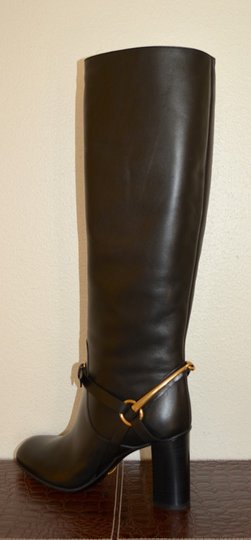 Gucci Leather Black Boots Image 6