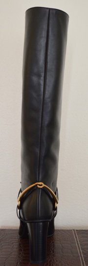 Gucci Leather Black Boots Image 7