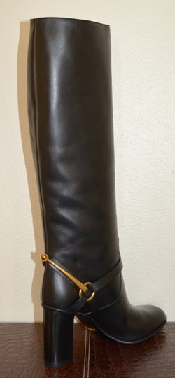 Gucci Leather Black Boots Image 8