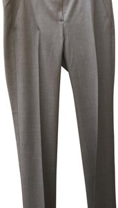 Theory Pleated Trouser Pants Gray