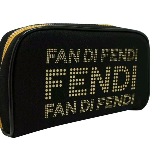 Item - Black/ Gold New Cosmetic Bag