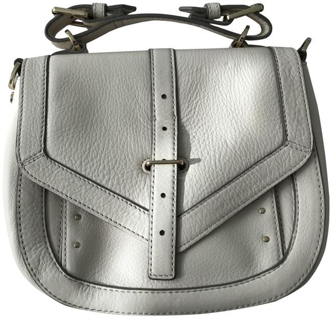 Item - 797 Pouch Ivory Leather Cross Body Bag