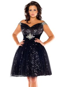 Mac Duggal Couture Prom Pageant Homecoming Plus-size Short Dress