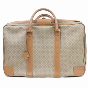 6921f26ff290 Céline Luggage Suitcase Sirius Satellite Boston Brown Travel Bag
